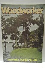 Woodworker Magazine. March, 1982. Volume 86, number 1060. Solar Kiln, PoleLathe