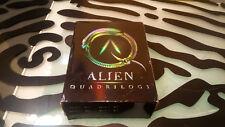 Alien Quadrilogy DVD Box Set Complete All Discs Clean - Box Shows wear on Edges