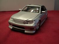 Jada Lexus IS300  new no box 2003 release  Import Racer 1/24 scale Gloss silver