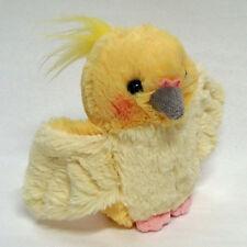 Cockatiel (Lutino) Fluffy Plush cute & realistic
