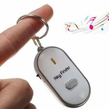 Hot LED Key Finder Locator Find Lost Keys Chain Keychain Whistle Sound Control