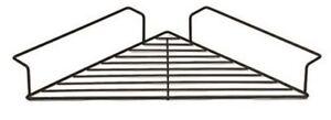 Corner Shelf Black Wire Caddy 67 cm Balcony Office Patio Deck Pot Plant Stand