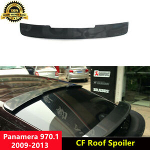 970 Rear Roof Spoiler Carbon Fiber Wings for Porsche Panamera 970.1 2009-2013
