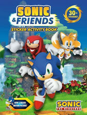 Sonic & Friends Sticker Activity Book (Sonic the Hedgehog).