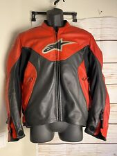 Alpinestars Indy Leather Jacket USA 44/ EU 54 Motorcycle Racing