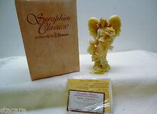 Seraphim Classics Heather Angel Figurine Box Coa & gold tag Autumn'S Beauty
