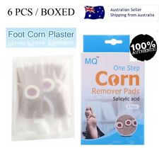 6PCS BOXED AUTHENTIC MQ CORN CAPS PLASTERS SKIN FOOT WART REMOVER FREE SHIPPING