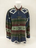 American Outdoors Co True Grit Vintage Blanket Shirt Native Southwest Size Small