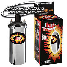 Pertronix Flame-Thrower Coil - 3.0 ohm - 4 & 6 Cyl - Chrome - 40,000V #5903