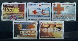 Macedonia 2002 Charity stamps MNH