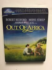 Out of Africa (Blu-ray Disc, 2012, 2-Disc, Digibook) NEW