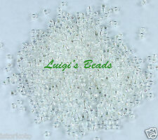 15/0 Round TOHO Japanese Seed Beads #161- Trans-Rainbow Crystal 10 grams