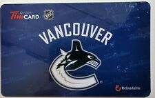 2013 TIM HORTONS GIFT CARD  ~VANCOUVER CANUCKS~ FREE ship ~FD38780 L