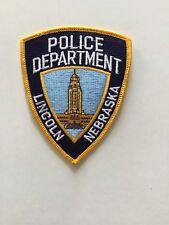 Lincoln Nebraska Police Patch