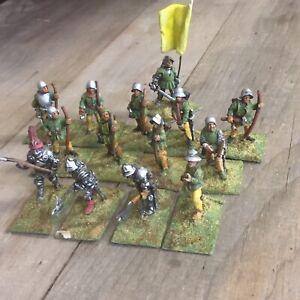 Citadel Warhammer - Men At Arms. Pikemen & Archers