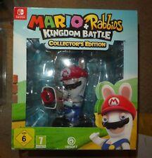 Mario Rabbids Collectors edition figure box set NINTENDO SWITCH kingdom battle