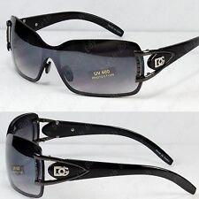New Black DG Eyewear Womens Mens Shield Designer  Sunglasses Shades Fashion