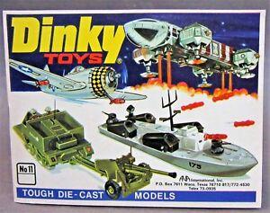 1975  USA #11 DINKY Diecast Toys CATALOG Hi Grade condition