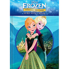Frozen (2013) (Blu-ray 3D + LIMITED EDITION STORY BOOK) (All Region) (New)