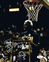 Ray Jackson Autographed Michigan Basketball Fab 5 Five 8x10 Photo JSA COA 5