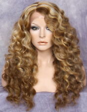 HEAT SAFE Lace Front WIG So Blonde brown mx Hairpiece ANT 2332