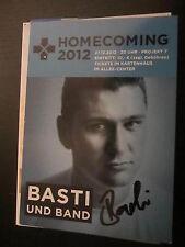 24128 Basti música TV Cine Original con firma de autógrafos mapa