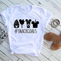 Snack goals shirt, disney shirt for mom, dad disney shirt, disney shirts, Minnie