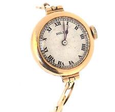 Antique Vintage Rolex Solid 14k Gold Winding ladies Watch Fine