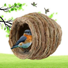 Grass Nest House Snooze Bed Cabin Cave For Guinea Pig Chinchilla Hamster Pet
