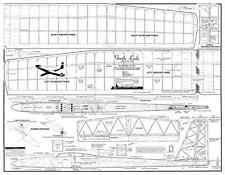 Gentle lady glider plan set