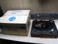 Pioneer PL-12D stereo vintage turntable record player boxed superb 1