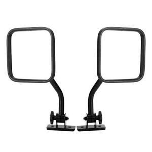 1 Pair Car Rear View Mirror A Pillar Mirror Accessory Fit For JK 2007-2017