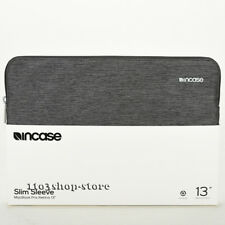 "Incase Slim Sleeve Pouch Slip Case For MacBook Pro Retina 13"" (Heather Black)"