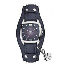 Tonneau Armbanduhren mit arabischen Ziffern und Glanz für Damen