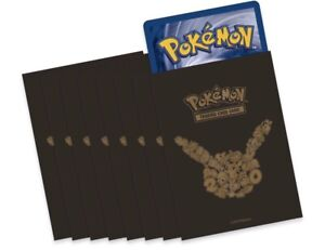 65 Pokemon 20th Anniversary Card Sleeves XY Generations Factory Sealed Pack
