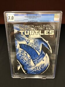 Teenage Mutant Ninja Turtles 2 CGC 7.0 OWW  2nd Print 1st App of April O'Neil
