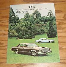 Original 1975 Mercury Monarch Montego Comet Sales Brochure 75