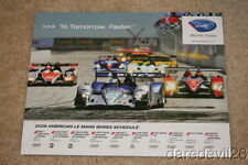 2009 Lowe's Fernandez Racing ALMS Series postcard
