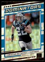 2020 Donruss Dominators #D-CM Christian McCaffrey - Carolina Panthers