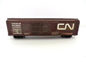 OO Craftsman Built Wood Circa1935 Canadian National 50' Double Door Boxcar (888