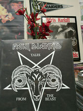 PAUL DIANNO (Iron Maiden) Tales from The Beast LP 666 Red Vinyl Made Killers