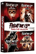 FRIDAY THE 13TH PART 5-8 DVD SET 4 DISC 4 MOVIE COLLECTION DVD R1  5 6 7 8