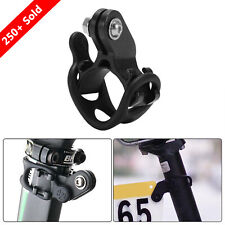 MTB Road Bike Race Number Plate Mount Holder Flashlight Computer Bracket Support