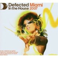 VARIOUS - MIAMI 2007-DEFECTED IN THE HOUSE 3 CD NEW