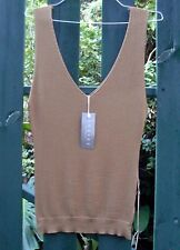 BNWT - RRP $60 - SHEIKE (S/8) PHEOBE OLIVE Ladies KNIT VEST SINGLET TOP Fashion