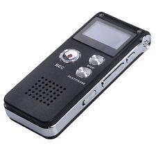 Cooligg Digital Audio Voice Recorder 8GB Mini Clip USB Spy pen Mp3 Dictaphone