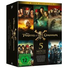 Pirates of the Caribbean 5-Movie Collection DVD Fluch der Karibik Box 1 2 3 4 5