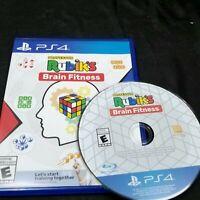 Professor Rubik's Brain Fitness PS4 Playstation 4