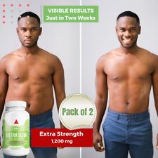 Caralluma Fimbriata Appetite Suppressant Stomach Fat Burner for Men (2-Pack)
