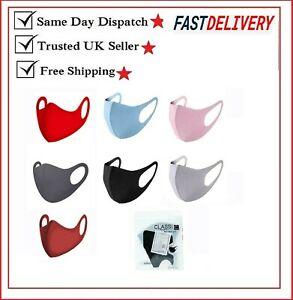 Adults Face Mask Covering Protection Men & Ladies Fashion Reusable Washable